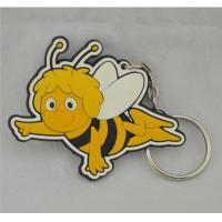 Eco-friendly,non-toxic material Silicone key chain wholesale in china Manufactures