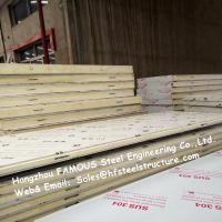 Light Weight Cold Room Panel Blast Freezer Ceiling Panels With Steel Sheet Material Manufactures
