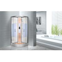 China KPN2064 Customized Circle Glass Shower Cabin , Curved Corner Shower Units wholesale
