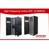 High Efficiency Onduleur Remote Control UPS For Internet Data Center , 30-300KVA Capacity Manufactures