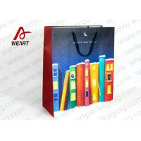 Funny Christmas Wine Gift Bags For Shop / Promotion Manufactures