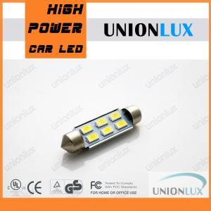 Automotive LED Light Bulbs 3W C5W LED Bulb , White / Yellow festoon led bulb Manufactures