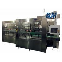 24000 BPH bottle water rinsing-filling-capping 3-in-1 machine with PLC control Manufactures