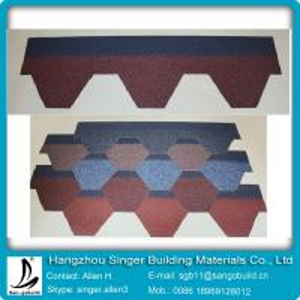 China 5 tab round roof asphalt shingles on sale