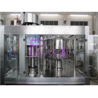 Full Automatic 3 In 1 Drinking Water Filling Plant For 4.5L / 5L PET Bottle