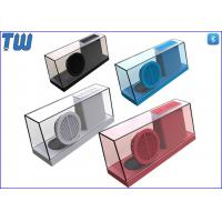 New Concept Integrated Whole Body Transparent Acrylic Stereo Sound Speaker Manufactures
