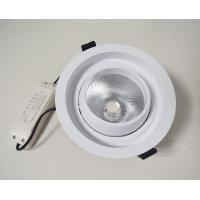 China COB ceiling recessed ligh Anti-glare downlight Die casting frame commercial lighting fixture on sale