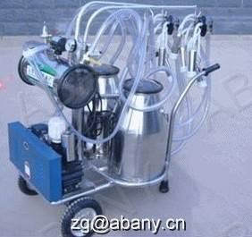 China Double buckets milking machine on sale