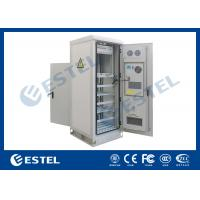 China Temperature Control Custom Made Antitheft Outdoor Telecom Cabinet With Front Door And Back Door wholesale