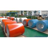 China Colour Coated Prepainted Galvalume Steel Coil 0.16mm - 1.6mm Thickness on sale