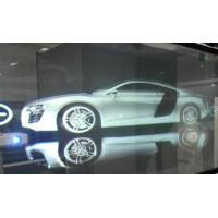 3D Holographic Rear Projection Film Adhesive Self Glass 170° View Angle Manufactures