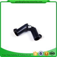 China Black Garden Cane Connectors Deameter 8mm Color Black 10pcs/pack Garden Stakes Connectors wholesale
