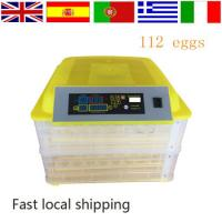 Fully automatic 100 eggs incubator CE approved poultry egg incubator great quality solar power chicken miniegg incubator Manufactures