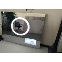60 Inch Bathroom Smart Mirror Tv Wall Mount Wide View Angle Anti - Scratch