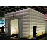 China Emergency Shelter Inflatable Buildings With PVC Tarp / Lighting Inflatable on sale