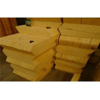 Light Weight Thermal Alumina Silica Bricks For Electric Arc Furnace Roof Manufactures