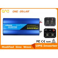 Home Full Power Modified Sine Wave Inverter 300W - 3000W DC To AC With Charger Manufactures