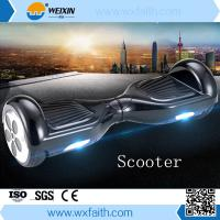 China Youth Self Balance Electric Skateboard with LED Light , Kids Electric Scooter Single Wheel on sale
