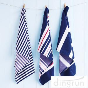 China OEM Full Print Kitchen Tea Towels , 100 Cotton Kitchen Dish Cloths 25*50cm on sale