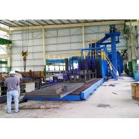 China Industrial Electricity Auto Wheel Blast Machine For Profile Steel Strengthen on sale