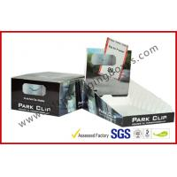 Foldable Rectangle Custom Cardboard Display Box , C2s Paper Packaging Box Manufactures