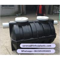 PE Roto-molded septic tank Manufactures