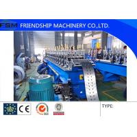 21.5KW Roll Forming Machines With Hydraulic Cutting And Punching Device Manufactures