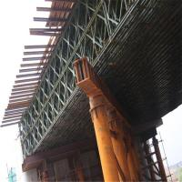 China Portable Temporary Construction Bridge Steel Truss Bridge For High Way Support wholesale