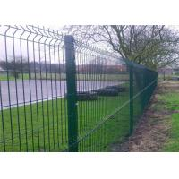 Professional Plastic Coated Garden Wire Mesh Fencing With Heavy Steel Structure Manufactures