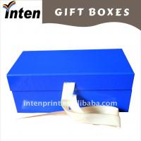 blue folded cd gift boxes Manufactures