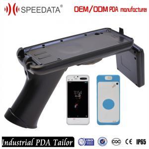 Portable GSM WIFI pda mobile phone , USB Fingerprint Scanner with Handheld RFID Reader