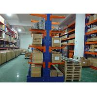 China Industrial Steel Storage Rack Powder Coating Finish , Cantilever Racking Systems on sale