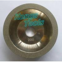 China Electroplated diamond grinding wheel / cup wheel on sale