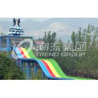 China Theme Park Custom Water Slides Steel Structure For Hotel / Resorts Used on sale