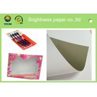 China Packaging / Printing Blister Board Paper 700 * 1000mm Low Surface Roughness on sale