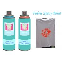 China Fast Dry  Non - toxic Aerosol Fabric Spray Paint For Textile  Soft  Pliable wholesale