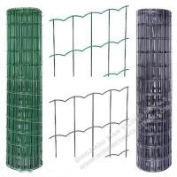 Plastic Coated Welded Wire Mesh Rust - Resistant For Sport Yard / Residential Manufactures