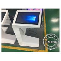 China Capacitive Touch Screen Kiosk 27inch i7 CPU All-in-One Touch Totem Win10 Wifi Multi Touch Interactive Kiosk wholesale