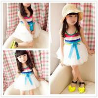 China Free Sample 2014 fashion design baby clothing china dress for girls wholesale baby clothes dress on sale
