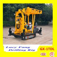 Hot Sale Top Quality Lowest  Mobile Soil Testing Drilling Rig With Mast and 30-100 m Depth Manufactures