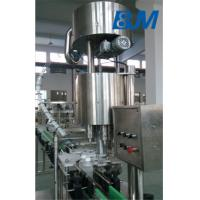 Automatic plastic capping machien with 6 capping heads3000-6000 bph capacity Manufactures
