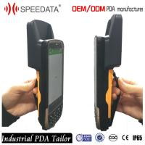 4G Sim Card 900Mhz Handheld UHF RFID Reader with ISO1800-6C EPC Gen2 Manufactures