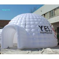 8m White Pvc Outdoor Inflatable Dome Tent With Logo For Business Show Manufactures