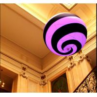 Customized Inflatable Spiral Ball with Led Light for Events Decoration Manufactures