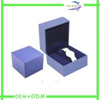 China Packaging Velvet Watch Gift Box With Pillow , Watch Presentation Box wholesale