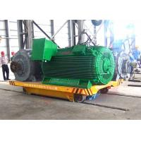 China 25t steel factory apply railway motorized cart running on steel rails wholesale
