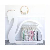 China Swan Design Childrens Wooden Clothes Rack / Elegant Kids Clothes Rack Stand on sale