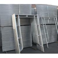 Construction Galvanized H Frame Scaffolding for Sale Manufactures