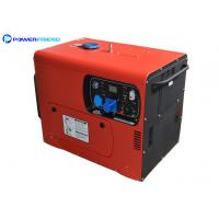 Buy cheap Diesel Small Portable Generators Electric Genset 5kw Single Phase Or Three Phase from wholesalers