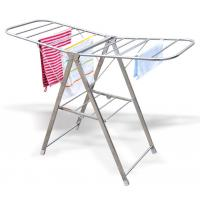 Butterfly shape stainless steel portable and folding indoor clothes airer Manufactures